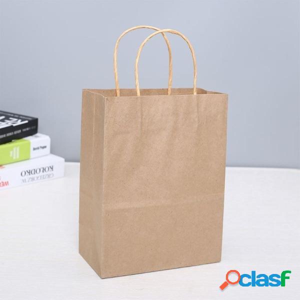 25 pezzi sacchetti regalo per la spesa in carta regalo con