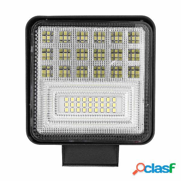 2Pcs 126W LED Luci da lavoro Spot Light Flood Spot Driving