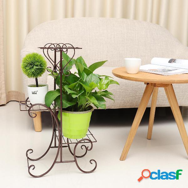 3 Tier Garden Planter Stand pianta da vaso di fiori Display