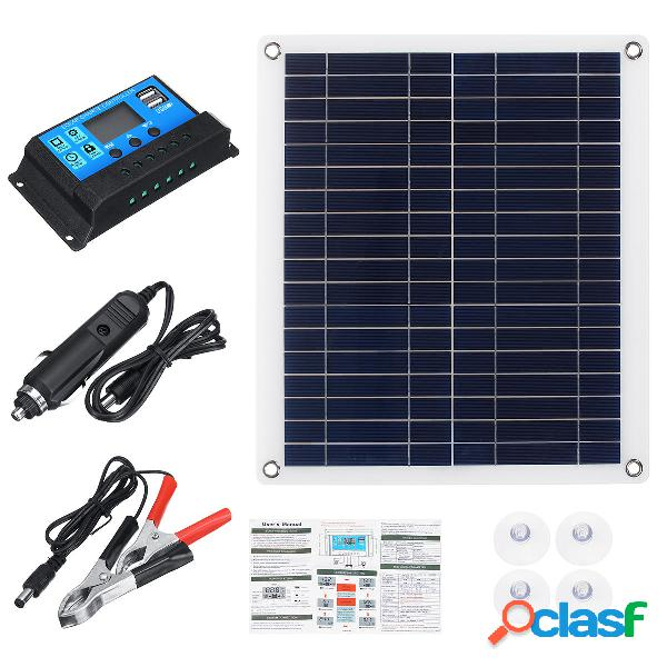 30W solare Pannello semi-flessibile portatile per auto e