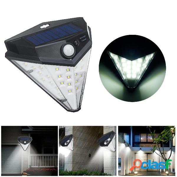 32 LED solare Power Light Motion Sensor Sicurezza Giardino