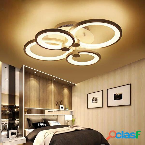 4 teste LED Lampada da soffitto a sospensione lampada