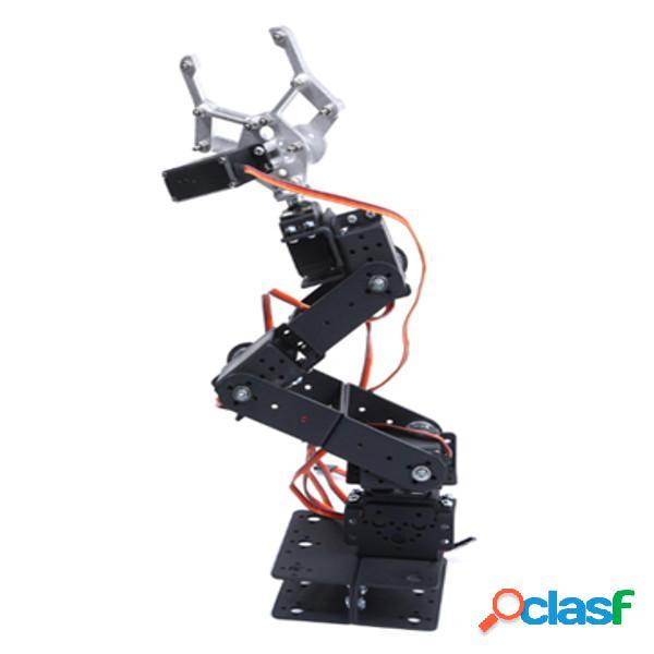 6 DOF 3D Rotating Meccanico Robot Braccio Kit fai da te per