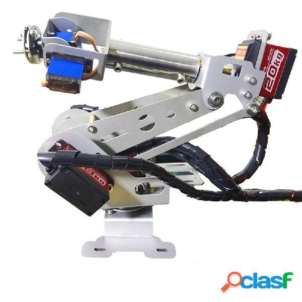 6DOF Kit robot educativo per braccio robot RC fai da te con