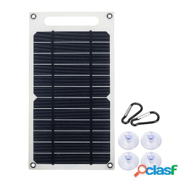 6V 10W 1.5A Pannello portatile monocristallino solare