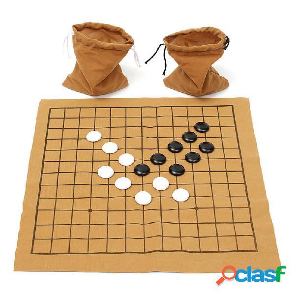 90pcs vanno Bang partita a scacchi impostato camoscio