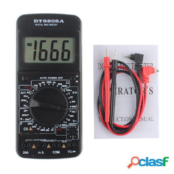 9205A portatile digitale Multimetri AC / DC tensione di