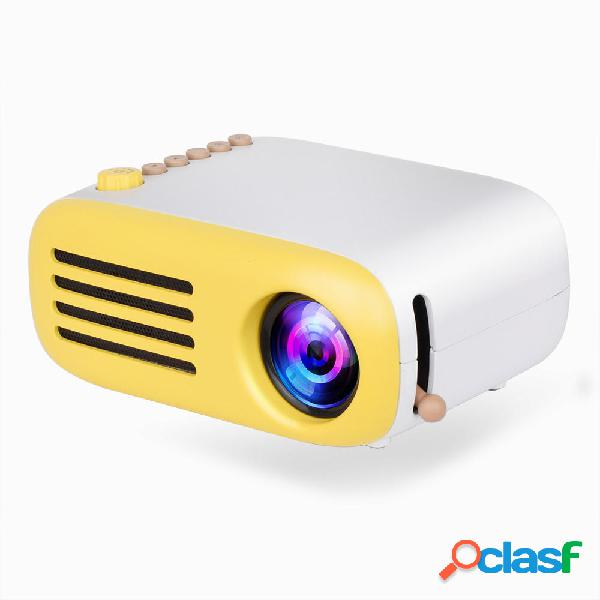 AAO YG200 Mini LED Pocket proiettore USB Supporto HDMI 1080P