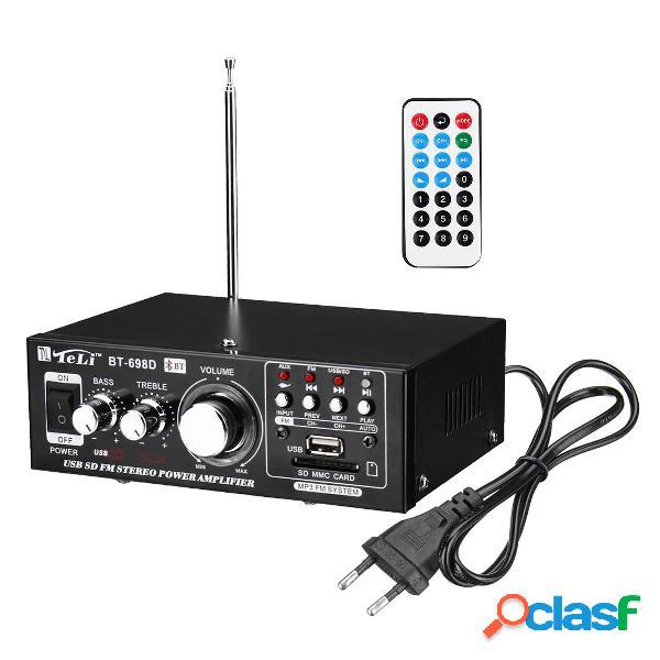 Amplificatore di potenza USB SD HIFI Amplificatore stereo
