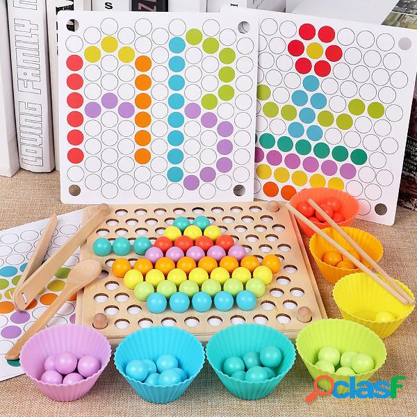 Bambini Apprendimento precoce Educativo Montessori Colore
