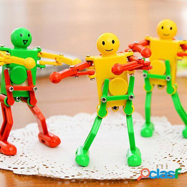 Bella danza del robot giocattolo a molla colore casuale