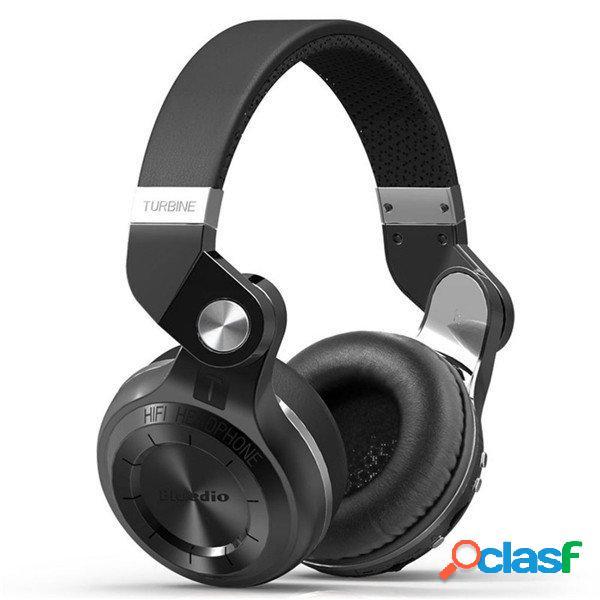 Bluedio T2 Plus Pieghevole Bluetooth Cuffie BT 5.0 Supporto