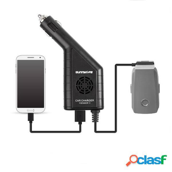 Caricatore da auto USB Batteria 2 in 1 per DJI Controller