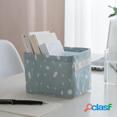 Cestino portabiancheria in cotone per la casa Desktop