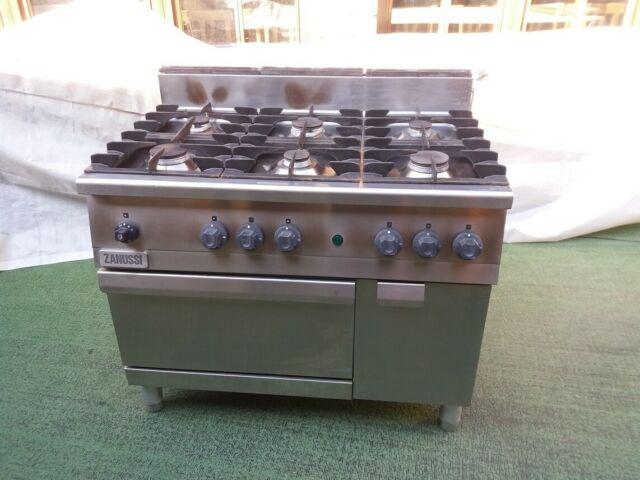 Cucina zanussi 6 fuochi a gas con forno a gas