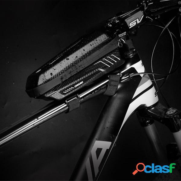 Custodia per bici da 1L con telaio anteriore superiore per