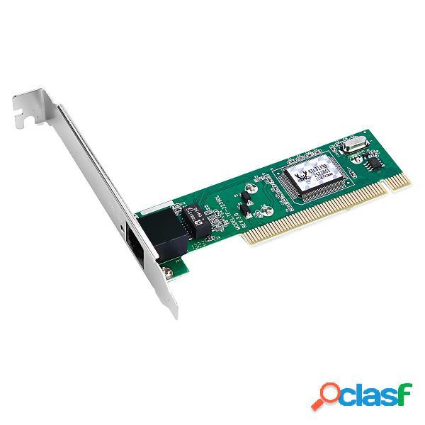 DIEWU R8139 Scheda di rete PCI senza unità RTL8100B Chip