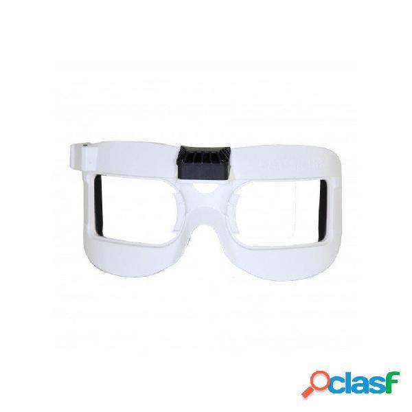 Fatshark Faceplate bianco V2 con ventola equipaggiata per