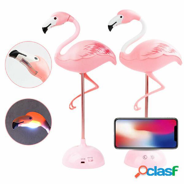 Flamingo Touch Sensor USB LED Tavolo scrivania lettura
