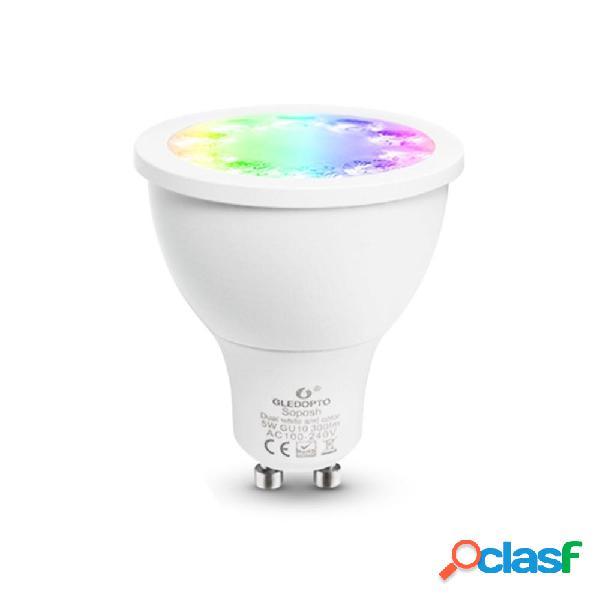 GLEDOPTO GL-S-007Z AC100-240V ZIG.BEE ZLL RGBCCT GU10 5W LED