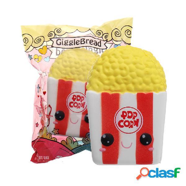 GiggleBread Popcorn Squishy 8 * 6.5 * 12CM con licenza Lento