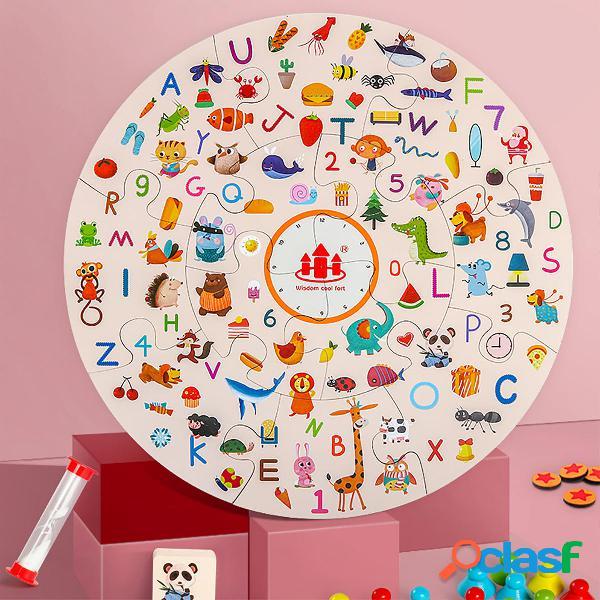 Gioco di carte da gioco per bambini con abbinamento di