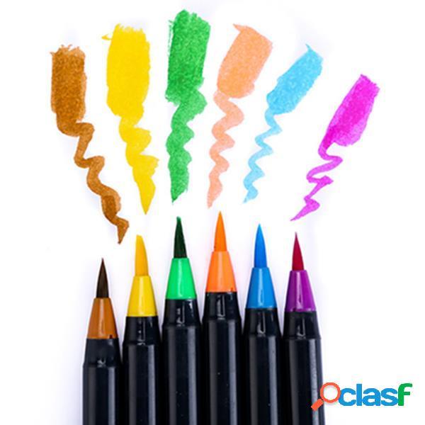 H & B HB-WB2 Pittura 20 colori Pennello Colore Soft Set