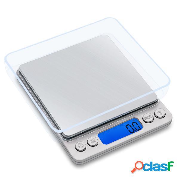 Honana 500g / 0.01g Peso elettronico Scala Mini Pocket