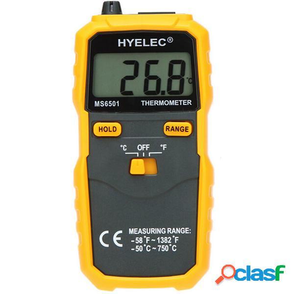 Hyelec Peakmeter Display LCD ms6501 termostato termometro