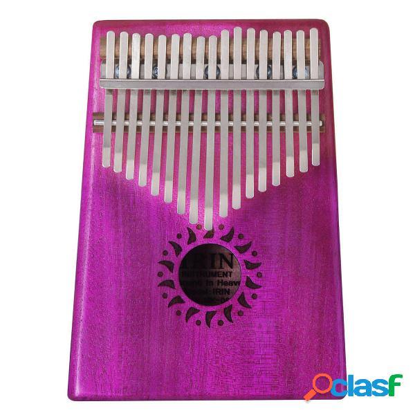 IRIN 17 tasti a percussione in legno con piano in miniatura