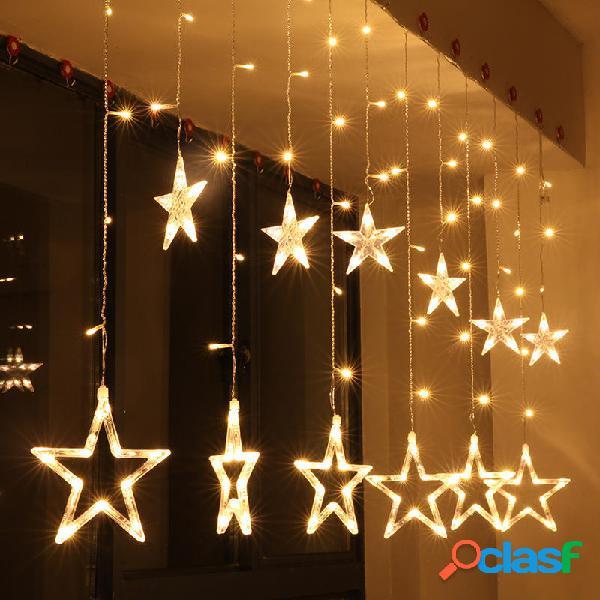 KCASA 2.5M 110-220V LED Luci Stringa Stella LED Luce Fairy