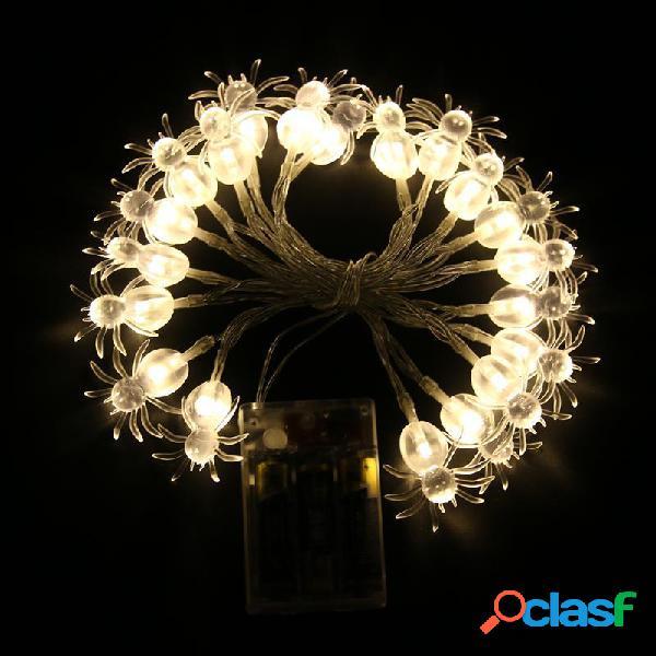 KCASA 2M 20 LED Spider Star String Lights LED Luci Fairy per