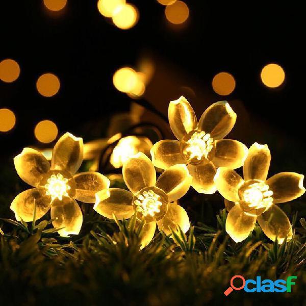 KCASA 5M 50 LED Luci a forma di fiore Sakura LED Luci