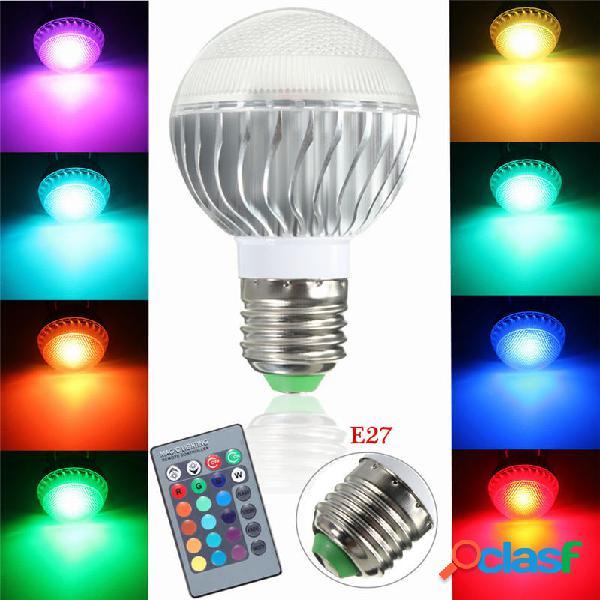 Kingso Dimmable E27 3W RGB luce a led Lampadina 16 colori