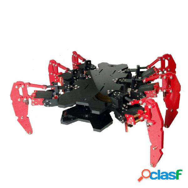 Kit educativo per robot a 6 gambe Robot Spider STEAM fai da