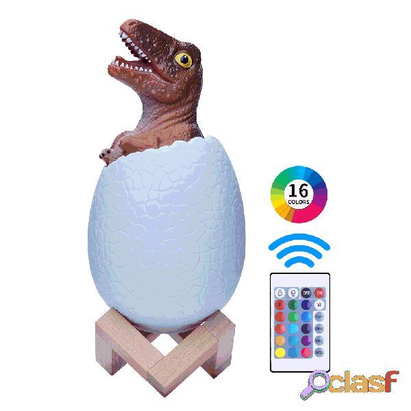 Loskii KL-02 Decorativo 3D Raptor Dinosaur Egg Smart Night