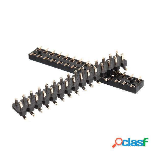 M5Stack® 1 paio 2x15 pin header presa di corrente 2,54 mm