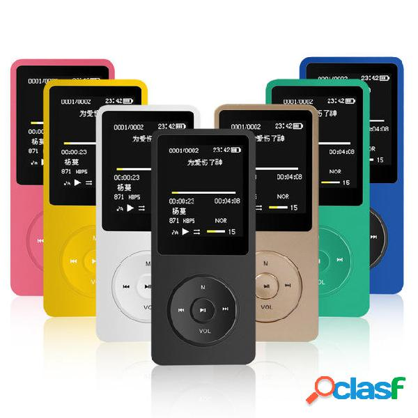 Mahdi M280 8GB 1.8 Pollici TFT Lettore MP3 MP4 compatibile