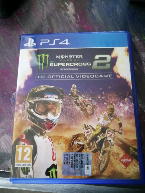 Monster Energy Supercross 2 The Official Videogame Ps4