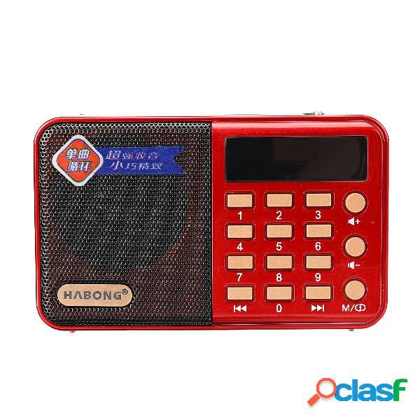 NONTAUS KK61 Altoparlante portatile FM Radio Mini TF TF MP3