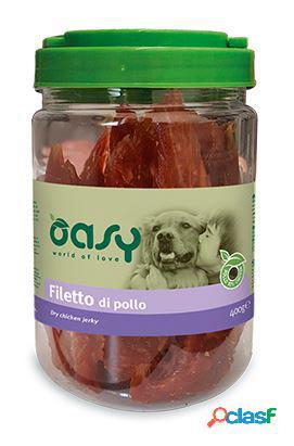 Oasy snack per cani gr 400 filetto di pollo