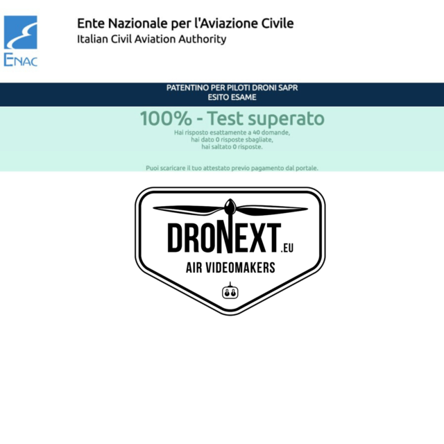 Patentino online droni enac: guida esame + 400 esempi