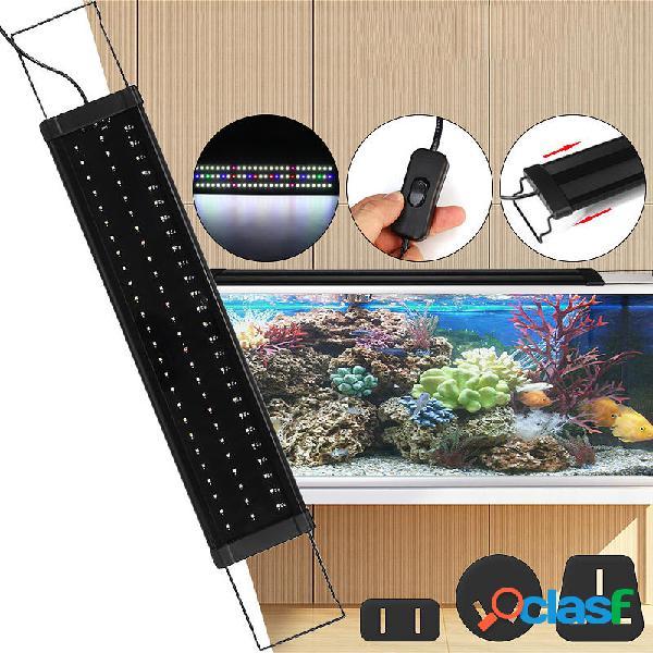 Per 65-70 CM RGB 78 LED Acquario Serbatoio per pesci leggeri