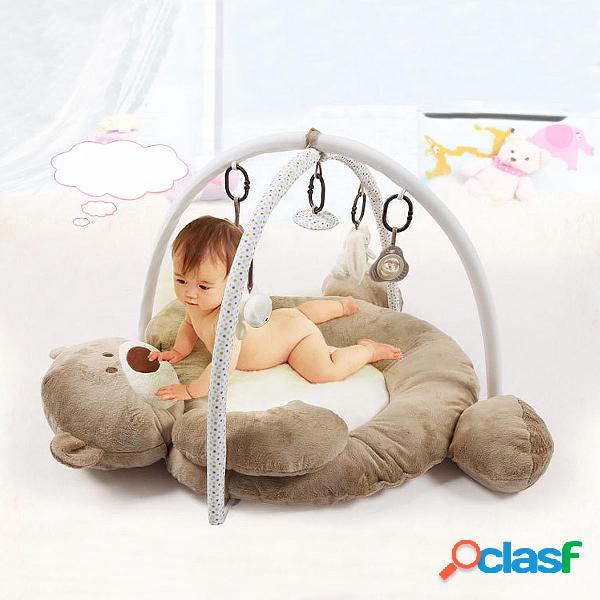 Pieghevole Musical Baby Bear Playmat Bambini Soft Gym