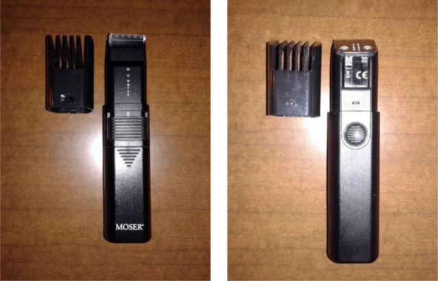 Rasoio per barba, capelli e depilazione, con regolatore