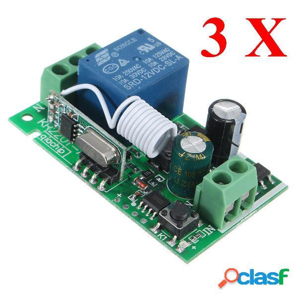 Relè wireless a 3 canali 3157070V 22095 10A 1CH remoto