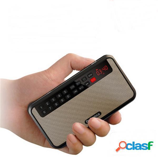 Rolton T60 Lettore MP3 Stereo Portatile Altoparlante Audio