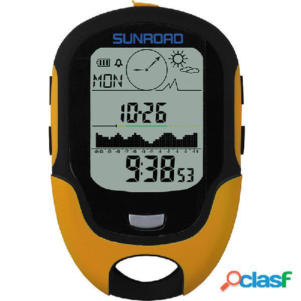 SUNROAD 700-9000m 816.658 Digitale Altimetro Barometro