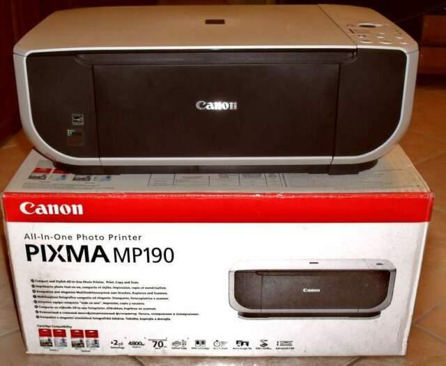 Stampante multifunzione canon pixma mp190