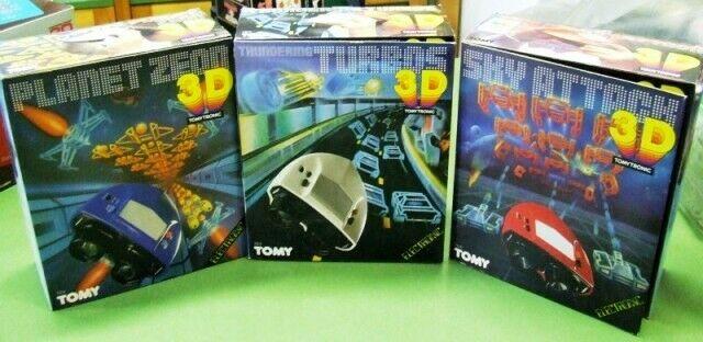 Stock di tre giochi Tomy Tronic 3D